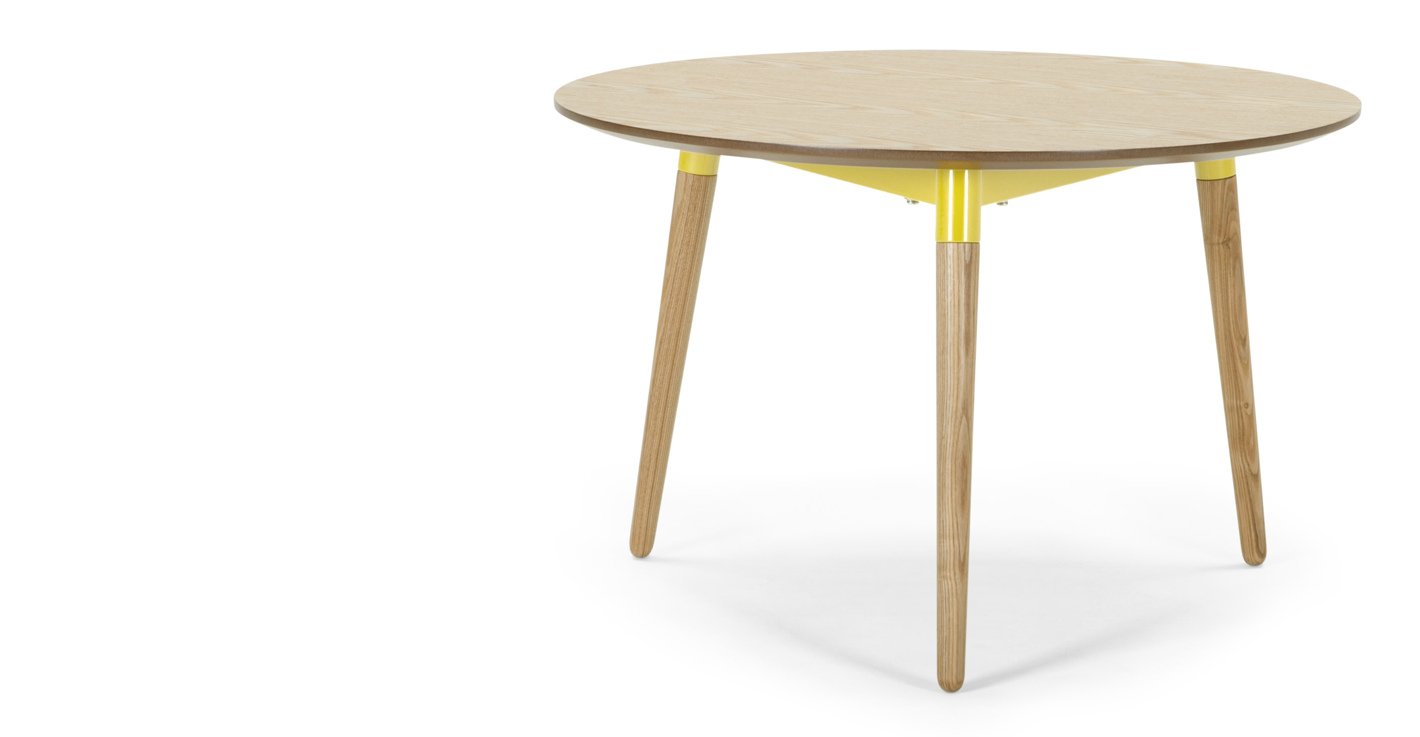 Edelweiss Coffee Table Ash And Yellow