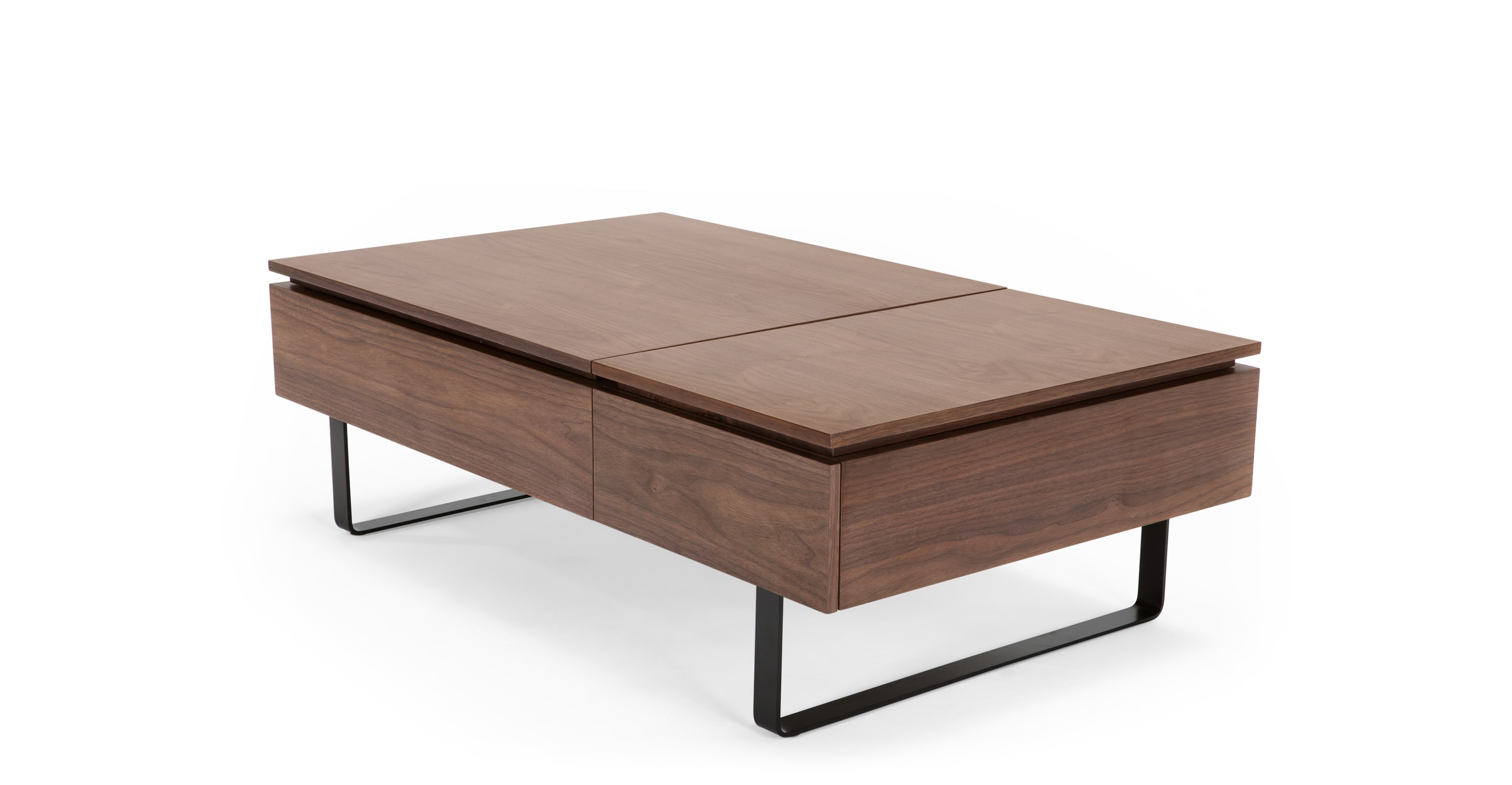 Walnut Coffee Table With Storage The Image Kid Has It