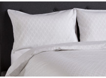 African Dream Double 300TC Cotton Sateen Bed Set, Silver