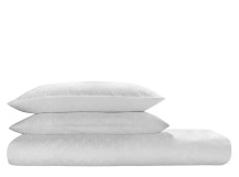 African Dream 300TC Cotton Sateen Bed Set, White