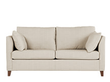 Bari Sofabed with Memory Foam Mattress, Malva Linen
