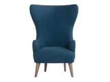 Bodil Chair, Thames Blue