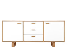 Boundary Sideboard, Oak and White