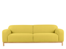 Brady 3 seater sofa, Mustard Yellow
