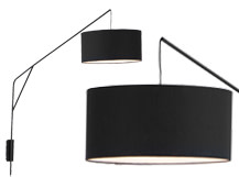 Bridge Statement Wall Lamp, Black