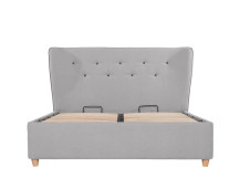 Burcot Double Storage Bed, Contrast Grey