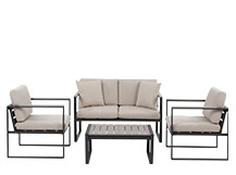 Catania Outdoor Lounge Set, Polywood
