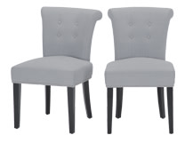 2 x Celia Dining Chairs, Persian Grey