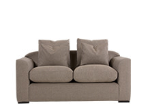 Christian 2 Seater Sofa, Fawn Weave