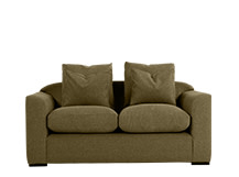 Christian 2 Seater Sofa, Moss Weave