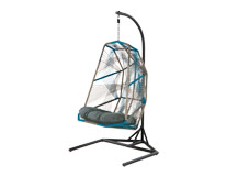 Copa Outdoor Hanging Chair, Cool Blue
