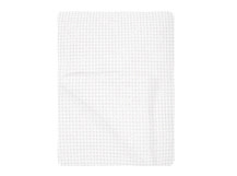 Grove 250 x 260cm 100% Cotton Stonewashed Waffle Bedspread, White