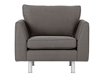 Drake Armchair, City Grey