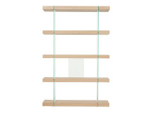 Esco  Shelving Unit, Oak