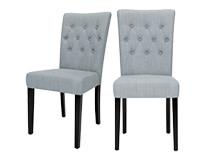 2 x Flynn Dining Chairs, Persian Grey
