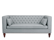 Flynn 3 Seater Sofa, Persian Grey