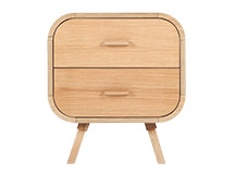 Fonteyn Bedside Table, Oak