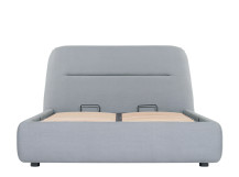 Fosse King Size Storage Bed, Persian Grey