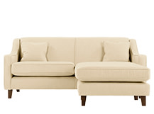 Halston Corner Sofa, Cream