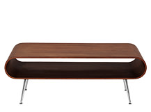 Hooper Storage Coffee Table, Walnut