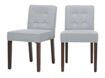 2 x Hoxton Dining Chairs, Persian Grey