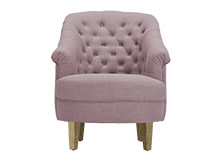 Jardena Armchair, Heather Purple