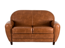 Jazz Club 2 Seater Sofa, Cognac