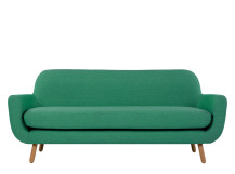 Jonah 3 Seater Sofa, Spearmint Green