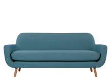 Jonah 3 Seater Sofa, Marine Blue