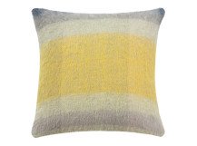 Lax Mohair Cushion 50 x 50cm, Grey Multi