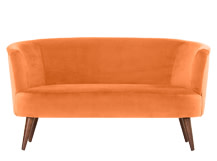Lulu 2 Seater Sofa, Chatelet Orange