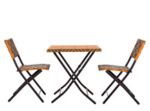 Mali Bistro Set, Mango Orange