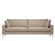 Mendini 3 Seater Sofa, Soft Taupe