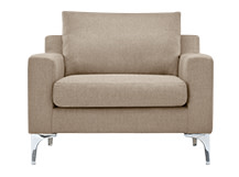 Mendini Armchair, Soft Taupe