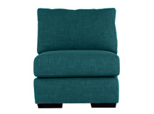 Mortimer Modular Chair, Shadow Teal