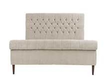 Orkney Double Bed, Tulip Cream
