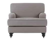 Orson Armchair, Graphite Grey