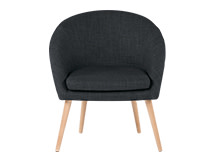 Picerno Chair, Shadow Grey