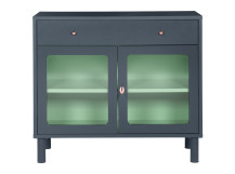 Quin Compact Cabinet, Blue