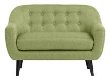 Mini Ritchie 2 Seater Sofa, Lime Green