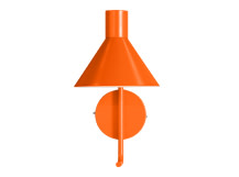 Truman Task Wall Lamp, Matt Burnt Orange