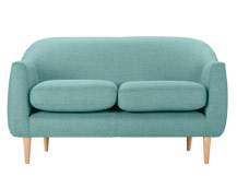 Tubby 2 Seater Sofa, Pacific Blue