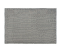 Adny Outdoor Woven Rug 170 x 240cm, Grey and White