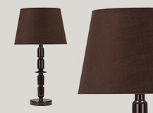 Bailey Table Lamp, Brown