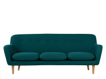Dylan 3 Seater Sofa, Mineral Blue