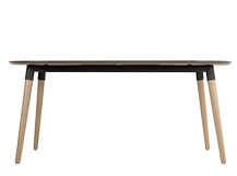 Edelweiss Extending Dining Table, Ash and Grey