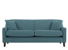Halston 3 Seater Sofa, Teal Weave