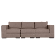 Mortimer 4 Seater Modular Sofa, Shadow Mocha