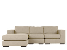 Mortimer 4 Seater Modular Corner Sofa, Shadow Stone