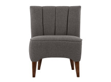 Pimlico Accent Chair, Suiting Grey